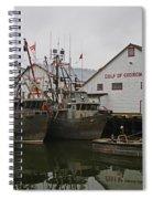 Gulf Of Georgia Co. Spiral Notebook