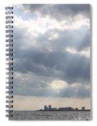 Gulf Of Mexico - Gulf Sunshine Spiral Notebook