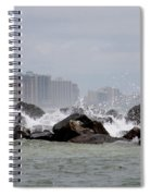 Gulf Of Mexico - More Waves Spiral Notebook