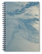 Gulf Of Mexico Oil Spill From Space Spiral Notebook
