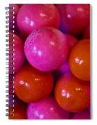 Gum Balls Spiral Notebook