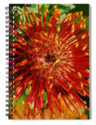 Gum Flower Spiral Notebook