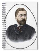 Gustave Eiffel, French Architect Spiral Notebook