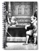 Guy Fawkes, English Soldier Spiral Notebook