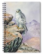 Gyrfalcon Spiral Notebook