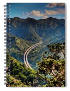 H-3 From The Aiea Loop Trail Spiral Notebook