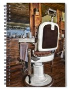 H J Barber Shop Spiral Notebook