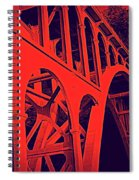 Haceta Head Bridge Spiral Notebook
