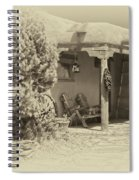 Hacienda Antique Plate Spiral Notebook