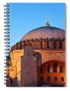 Hagia Sophia In Istanbul Spiral Notebook