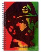 Haile Selassie Spiral Notebook