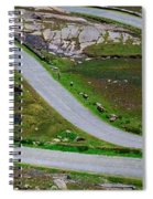 Hairpin Bends In The, Healy Pass, Beara Spiral Notebook