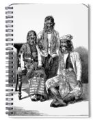 Hairy Faced Burmese Family Spiral Notebook