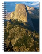 Half Dome From Washburn Point Spiral Notebook