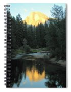 Half Dome Reflection Spiral Notebook