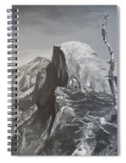 Half Dome Tree Spiral Notebook