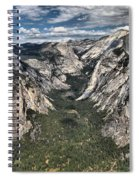 Half Dome Valley Spiral Notebook