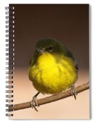 Half N Half Spiral Notebook