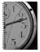 Half The Time Spiral Notebook