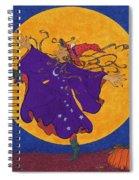 Halloween Dance Spiral Notebook