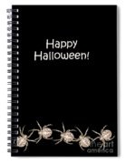 Halloween Greetings. Spider Party Series #03 Spiral Notebook
