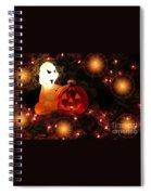 Halloween Magic Spiral Notebook