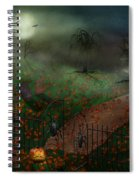 Halloween - One Hallows Eve Spiral Notebook
