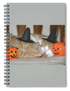 Halloween Party Animals Spiral Notebook