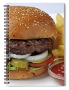 Hamburger  Spiral Notebook