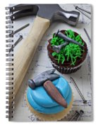 Hammer Cupcake Spiral Notebook