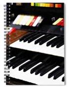 Hammond Electric Organ Spiral Notebook