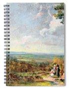 Hampstead Heath Looking Towards Harrow Spiral Notebook