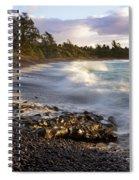 Hana Beach And Wave Spiral Notebook