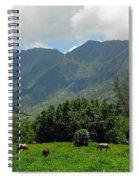 Hanalei Horses Spiral Notebook