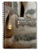 Hand Of Thai Buddha Spiral Notebook