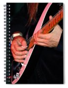 Sun In The Hands And Guitar Of Uli Jon Roth Spiral Notebook