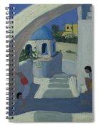 Handstand Spiral Notebook