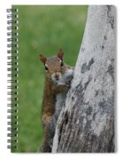 Hanging And Chilling Spiral Notebook