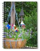 Hanging Basket  Spiral Notebook