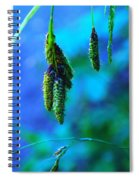 Hanging Green  Spiral Notebook