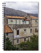 Hanging Out To Dry In Dubrovnik 1 Spiral Notebook