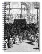Hannukah Celebration, 1880 Spiral Notebook