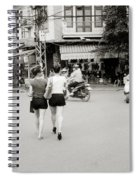 Hanoi Girls Spiral Notebook