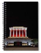 Hanoi Ho Chi Minh Mausoleum Spiral Notebook