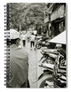 Hanoi In Vietnam Spiral Notebook