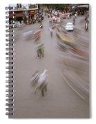 Hanoi Motion Spiral Notebook