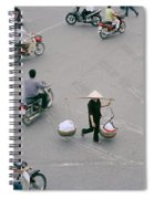 Hanoi Woman Spiral Notebook