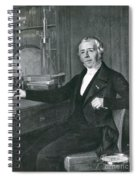 Hans Christian �rsted, Danish Physicist Spiral Notebook