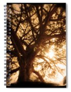 Happiness Lives Spiral Notebook