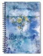 Happy Birthday - Card Design Spiral Notebook